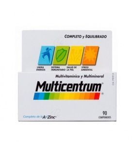 MULTICENTRUM VITAMINAS Y MINERALES 90 COMP